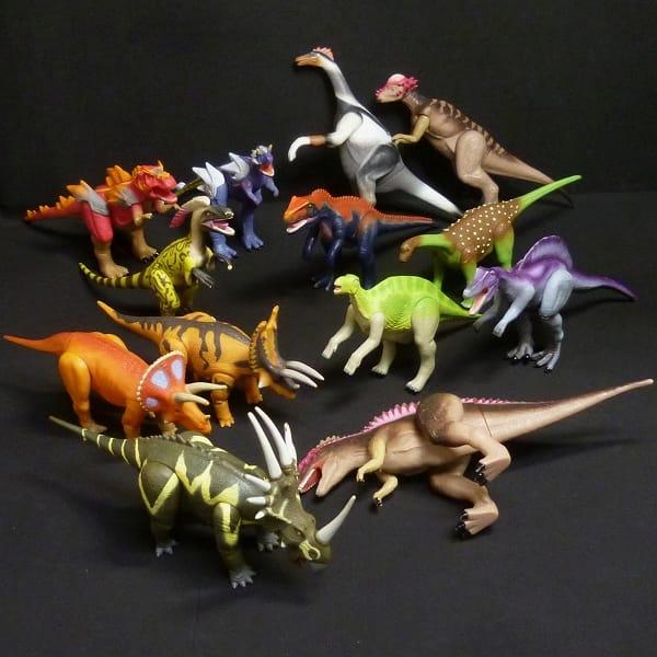 セガ 恐竜キング ソフビまとめて スピノサウルス他