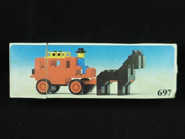 昔のLEGO 697 馬車 当時物 / レゴ ブロック 玩具