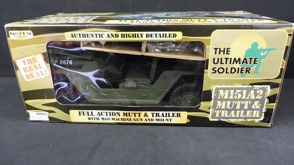 G.I.ジョー M151A2マット&トレーラー/ULTIMATE SOLDIER