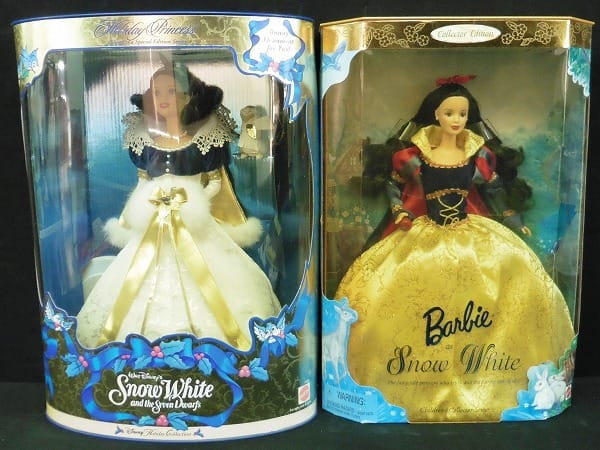 マテル バービー 白雪姫 2種 /SnowWhite Barbie MATTEL