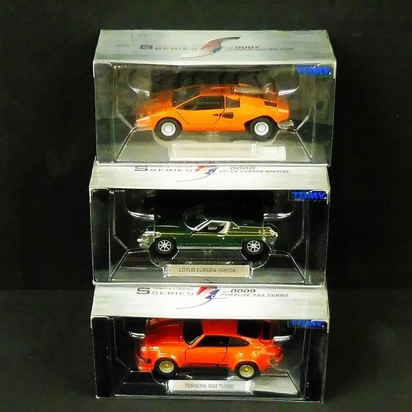 トミカリミテッドSシリーズ ポルシェ 934 ターボ 橙 他