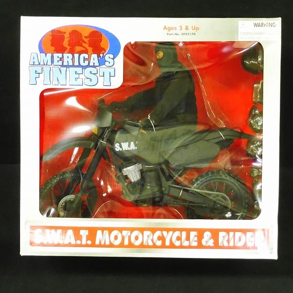 AMERICAN'S FINEST S.W.A.T. モトサイクル & ライダー