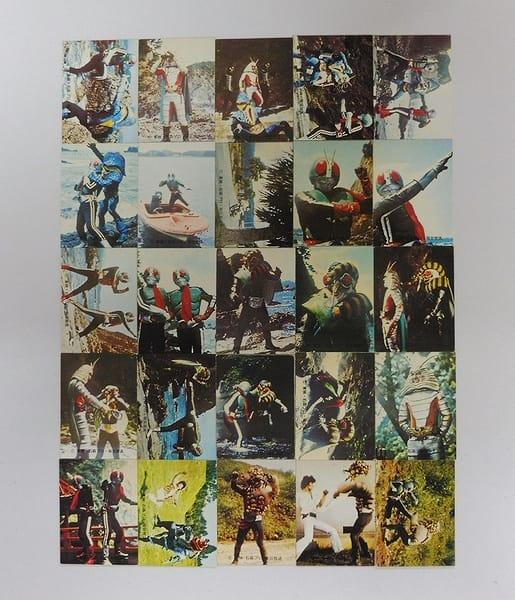 カルビー 旧 仮面ライダー カード 235-260 セミコンプ