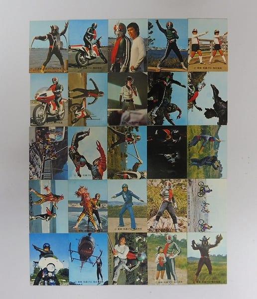カルビー 旧 仮面ライダー カード 322-347 セミコンプ