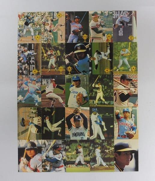 カルビー プロ野球 カード 1979年 タイトル・ホルダー他