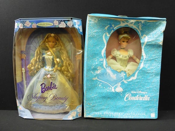 マテル MATEL バービー 人形 眠れる森の美女 シンデレラ