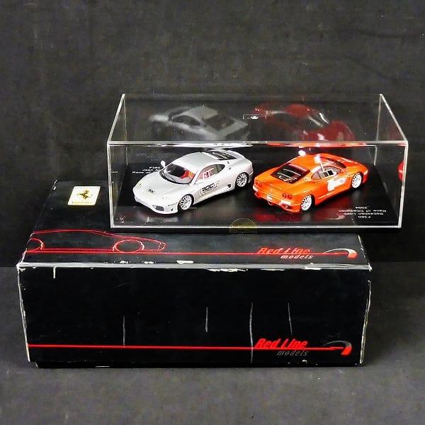レッドライン 1/43 RL041 フェラーリ F360 2004 アレジ