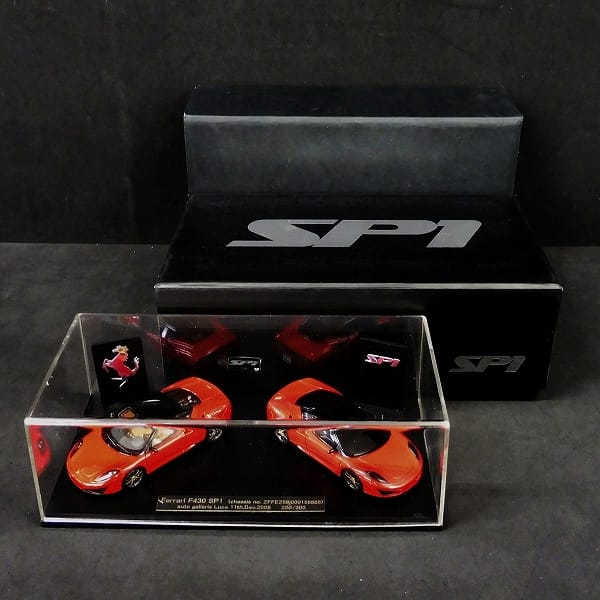 レッドライン 1/43 KBR006 フェラーリ F430 SP1 2008 赤