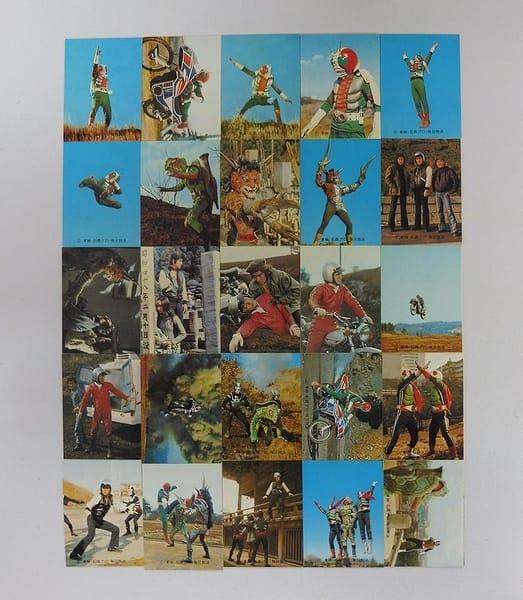 カルビー 旧 仮面ライダーV3 カード 1-28 セミコンプ