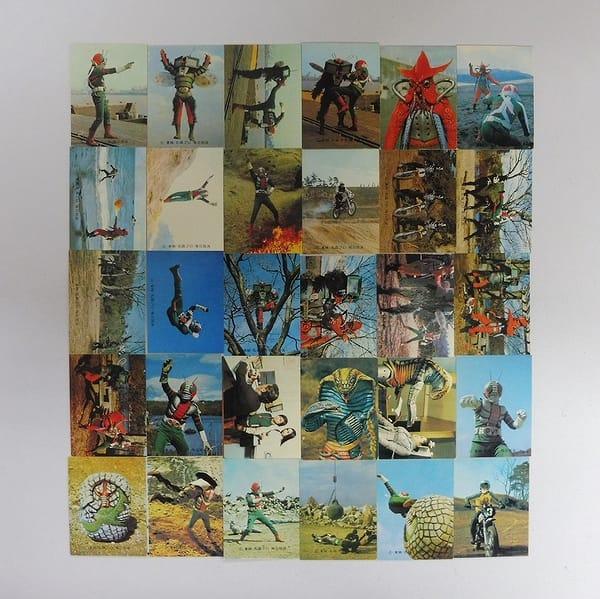 カルビー 当時物 旧 仮面ライダーV3 カード 68-178 30枚