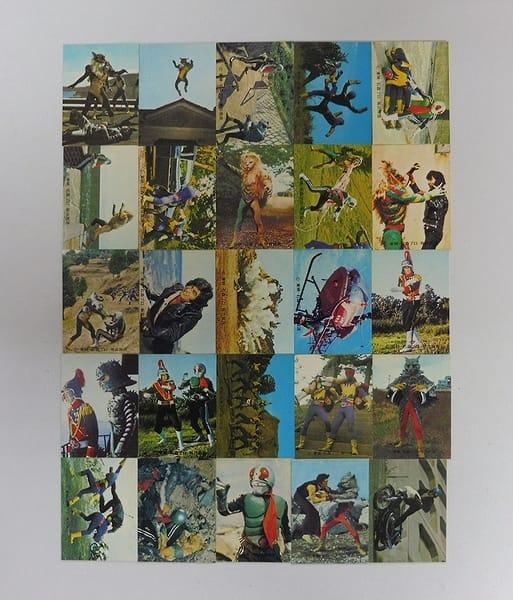 カルビー 旧 仮面ライダー カード 373-400 セミコンプ