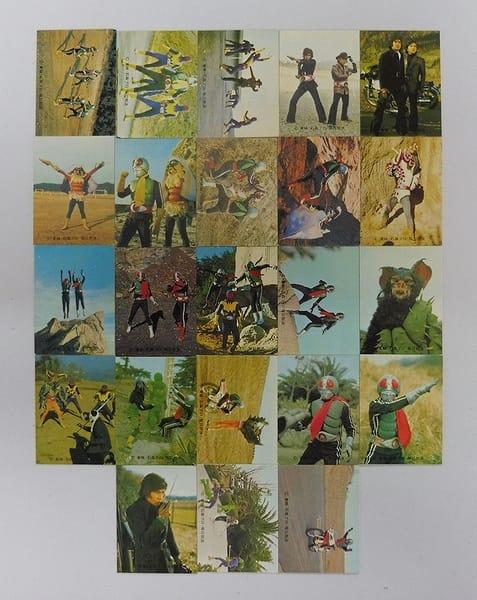 カルビー 当時物 旧 仮面ライダー カード 453-490 23枚