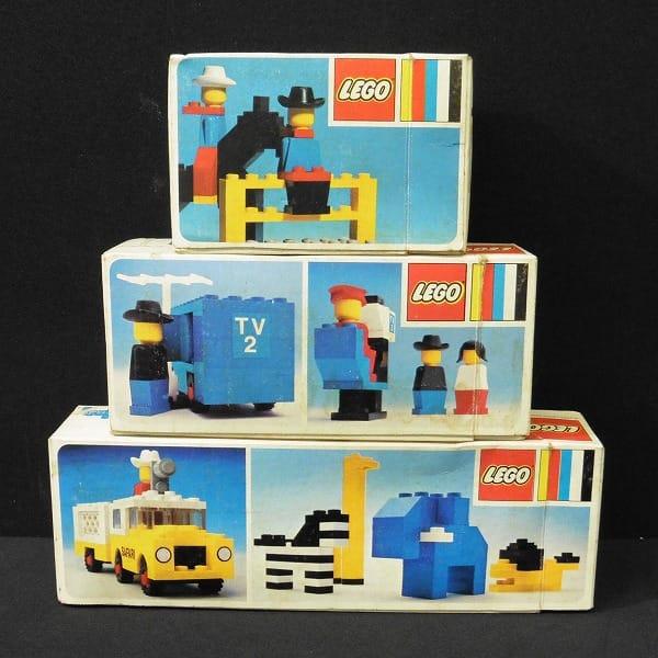 LEGO レゴ 617 699 664 TVクルー カウボーイ 他 当時物