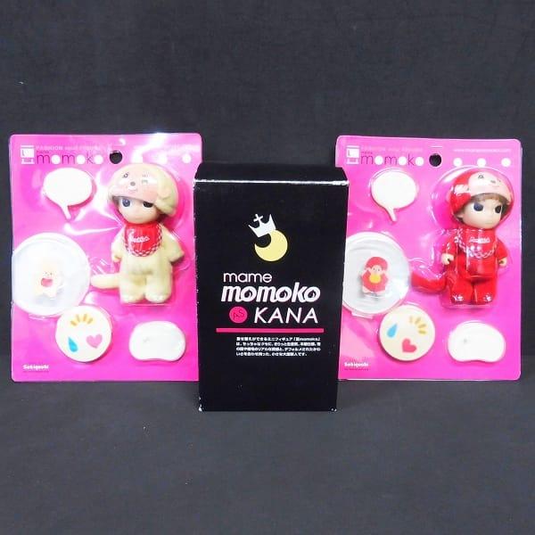セキグチ PetWORKS 豆momoko KANA 2種 モンチッチ 2種