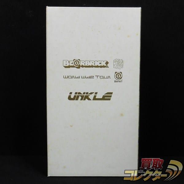 メディコムトイ ベアブリック400% UNKLE World widetour