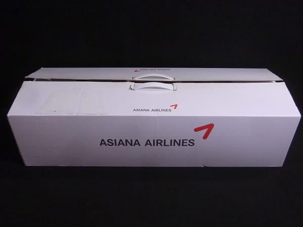 アシアナ航空 1/100 ボーイング 747-400 非売品