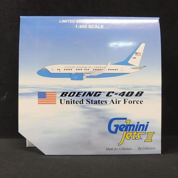 ジェミニ 1/400 B737-700 C-40B アメリカ空軍高官輸送機
