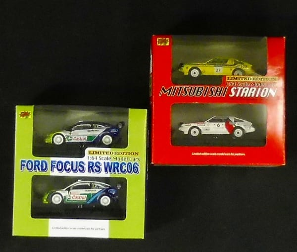 CM'S 限定 1/64 三菱スタリオン FORD FOCUS RC WRC06