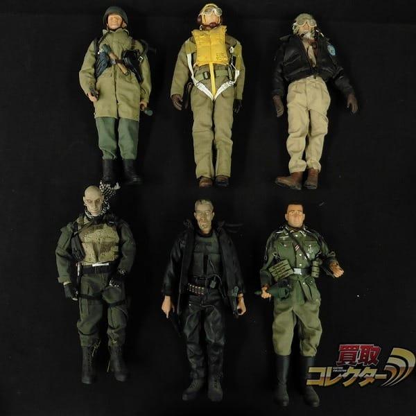 軍人 パイロット フィギュア まとめて / ミリタリー 人形