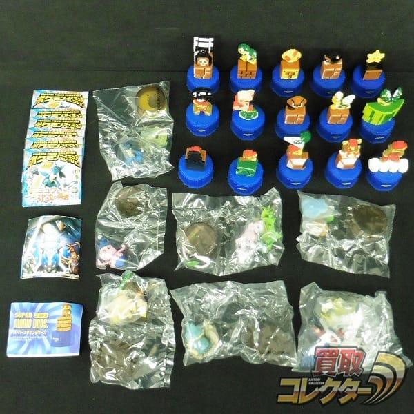 マリオ ボトルキャップ ポケモン ミニフィギュア /Nintendo