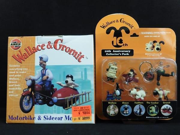 AIRFIX ウォレスとグルミット バイク & サイドカー 他