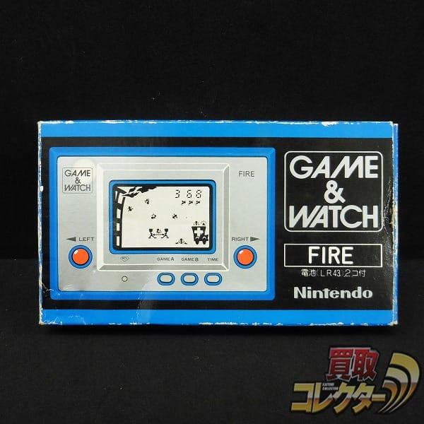 任天堂 GAME&WATCH ゲームウォッチ FIRE ファイア RC-04