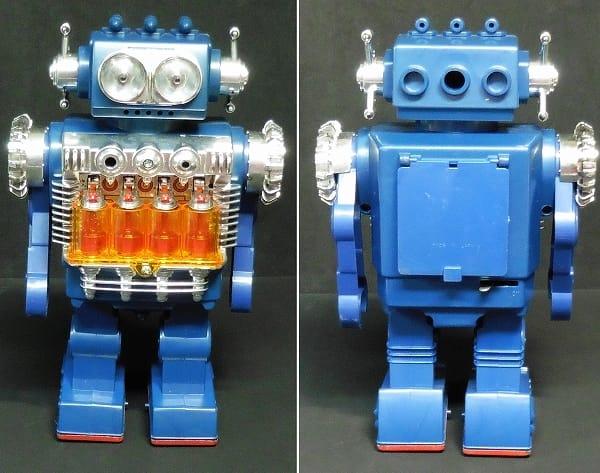堀川玩具 スモーキングエンジンロボット 日本製 箱有_2