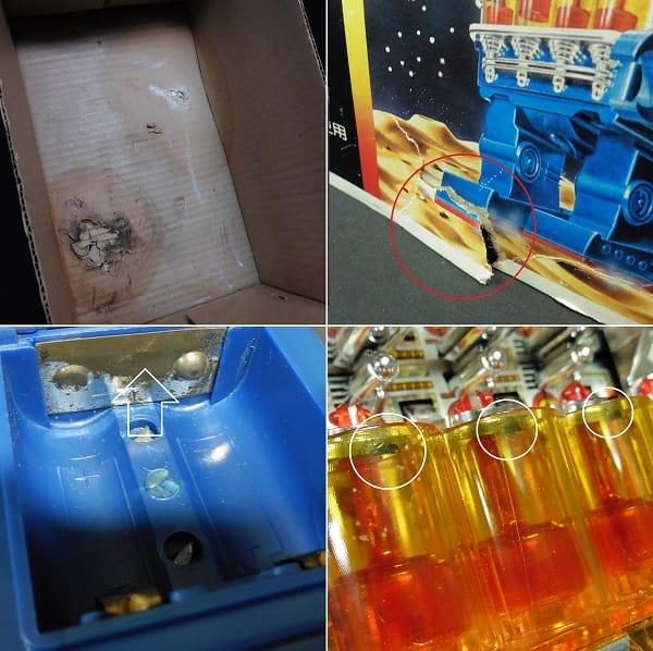 堀川玩具 スモーキングエンジンロボット 日本製 箱有_3