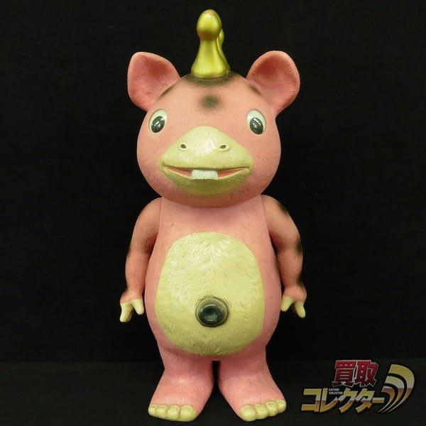 イヌクマ 快獣ブースカ ジャイアントピンク ソフビ /円谷プロ