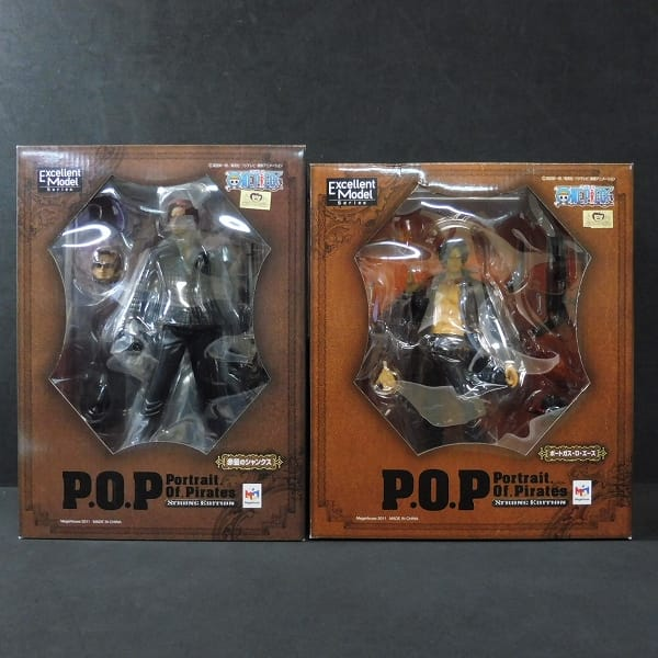 P.O.P STRONG EDITION シャンクス エース / POP