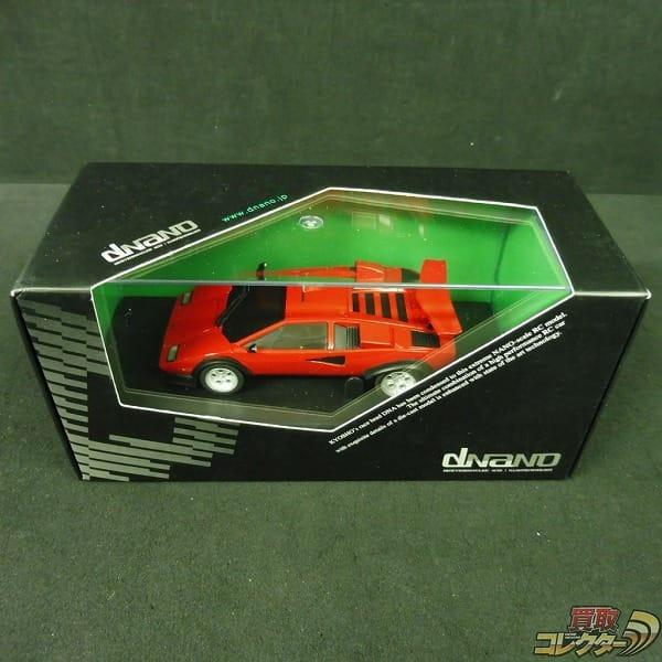 京商 dNaNo ランボルギーニ カウンタック LP500S レッド/RC