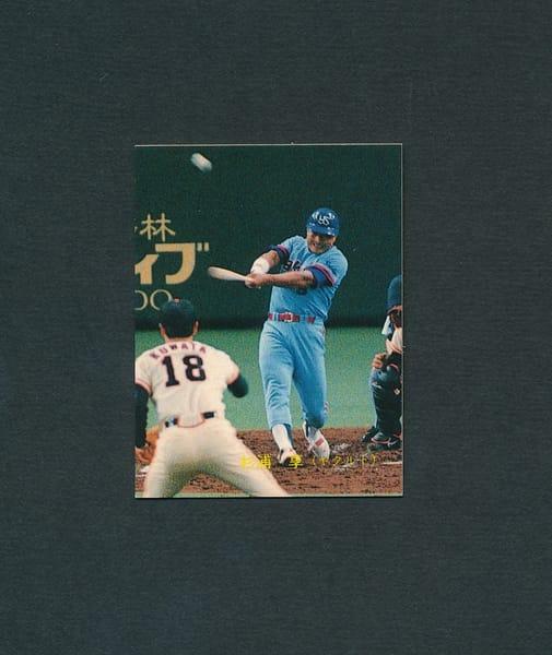 カルビー プロ野球 カード 1989年 No.198 杉浦亨