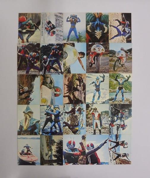 カルビー 旧 仮面ライダー カード 218-245 セミコンプ
