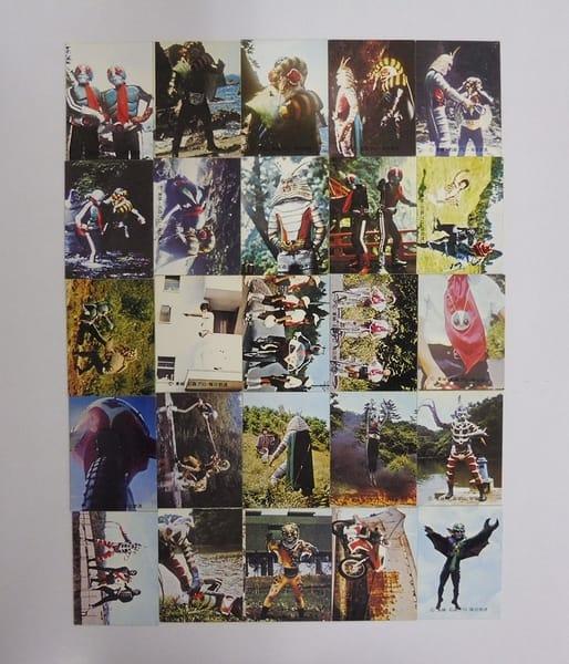 カルビー 旧 仮面ライダー カード 246-275 セミコンプ