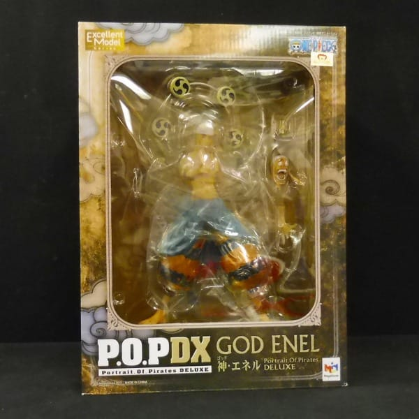 P.O.P DX ONE PIECE 神・エネル GOD ENEL / メガハウス