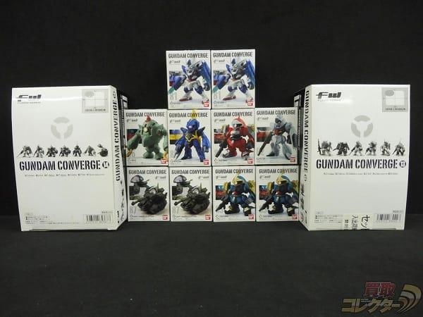 FW GUNDAM CONVERGE 13 14 BOX ダブルオークアンタ 他