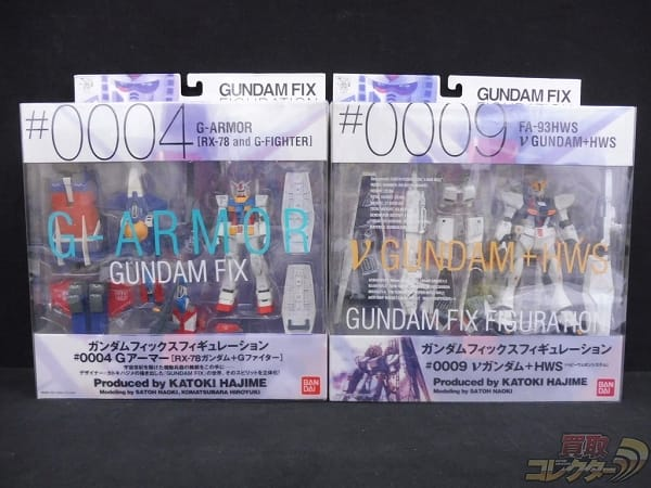 GFF ガンダム+Gファイター νガンダム+HWS / BANDAI