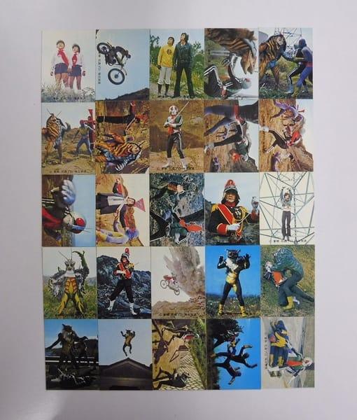カルビー 旧 仮面ライダー カード 352-377 セミコンプ