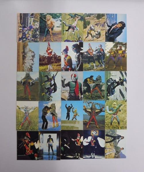 カルビー 当時物 旧 仮面ライダー カード 379-413 25枚