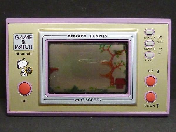 任天堂 ゲームウォッチ SP-30 スヌーピー テニス ワイド