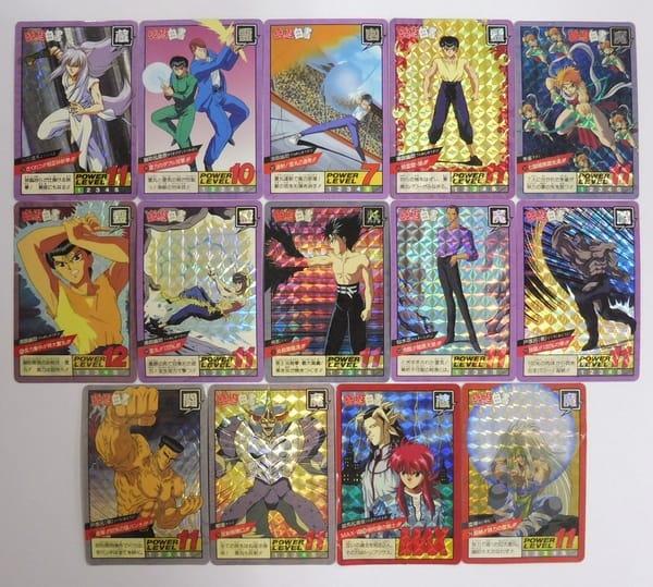 幽遊白書 カードダス スーパーバトル ダブル キラ 14枚