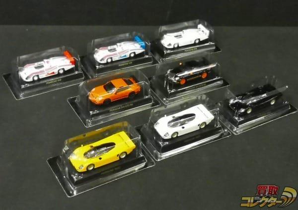 京商 1/64 ポルシェ 911 GT3 RS  PORSCHE 962C PORSCHE 936