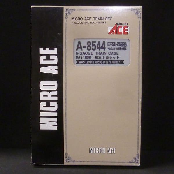マイクロエース A8544 EF58-26 茶色 急行 彗星 基本8両