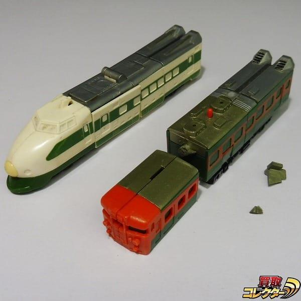 旧タカラ 当時 ダイアクロン トレインロボ 上越新幹線 153系列車