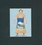 カルビー 大相撲 カード 10 北の湖敏満 1973年版 / 三保ケ関部屋