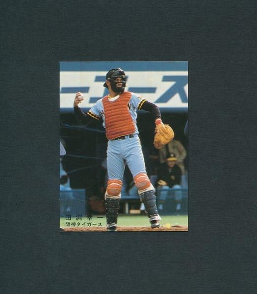 カルビー プロ野球 カード 1978年 田淵幸一 阪神