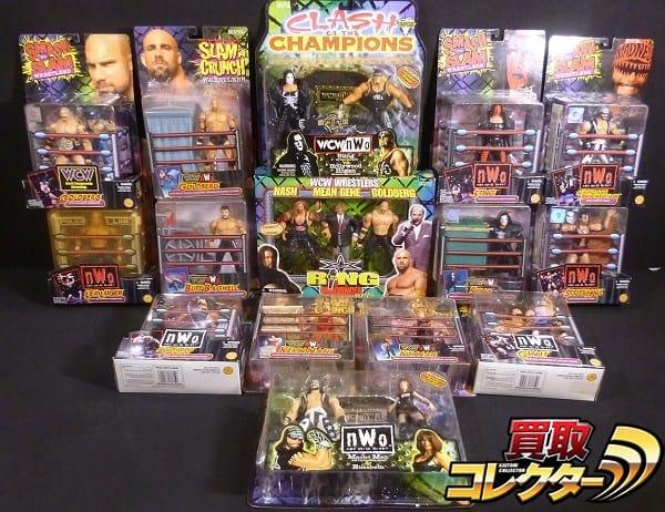 トイビズ 米プロレスフィギュア WCW ホーガン ナッシュ 他
