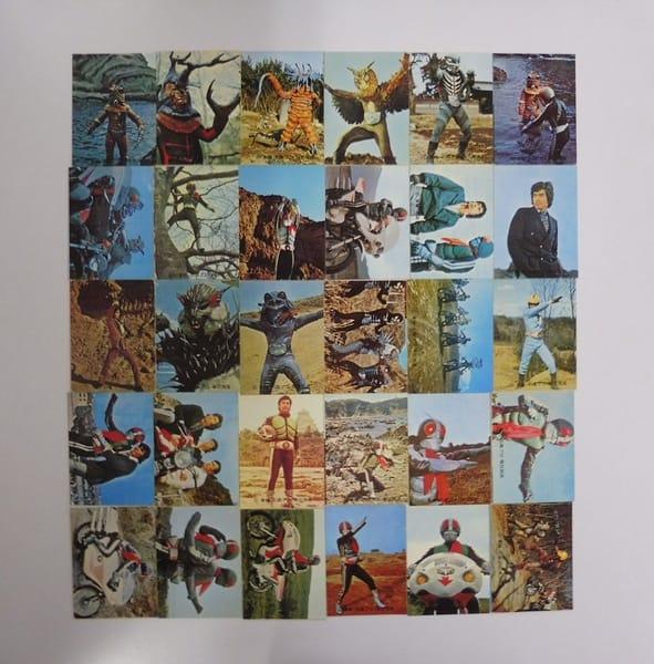 カルビー 旧 仮面ライダー カード 110-141 セミコンプ_1