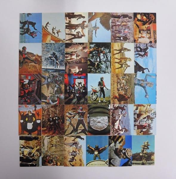 カルビー 旧 仮面ライダー カード 142-172 セミコンプ_1