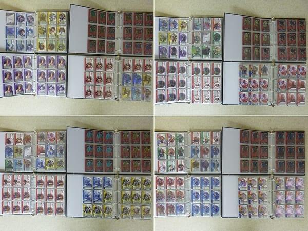 仮面ライダー 電王 カードダス カード 大量 + バインダー 4冊_2